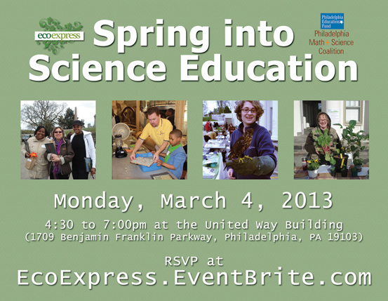 Spring into Science Education Expo: Monday March 4