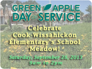 Green Apple Day of Service at Cook-Wissahickon Elementary School