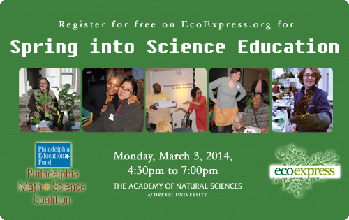 EcoExpression Spring into Science Education 2014